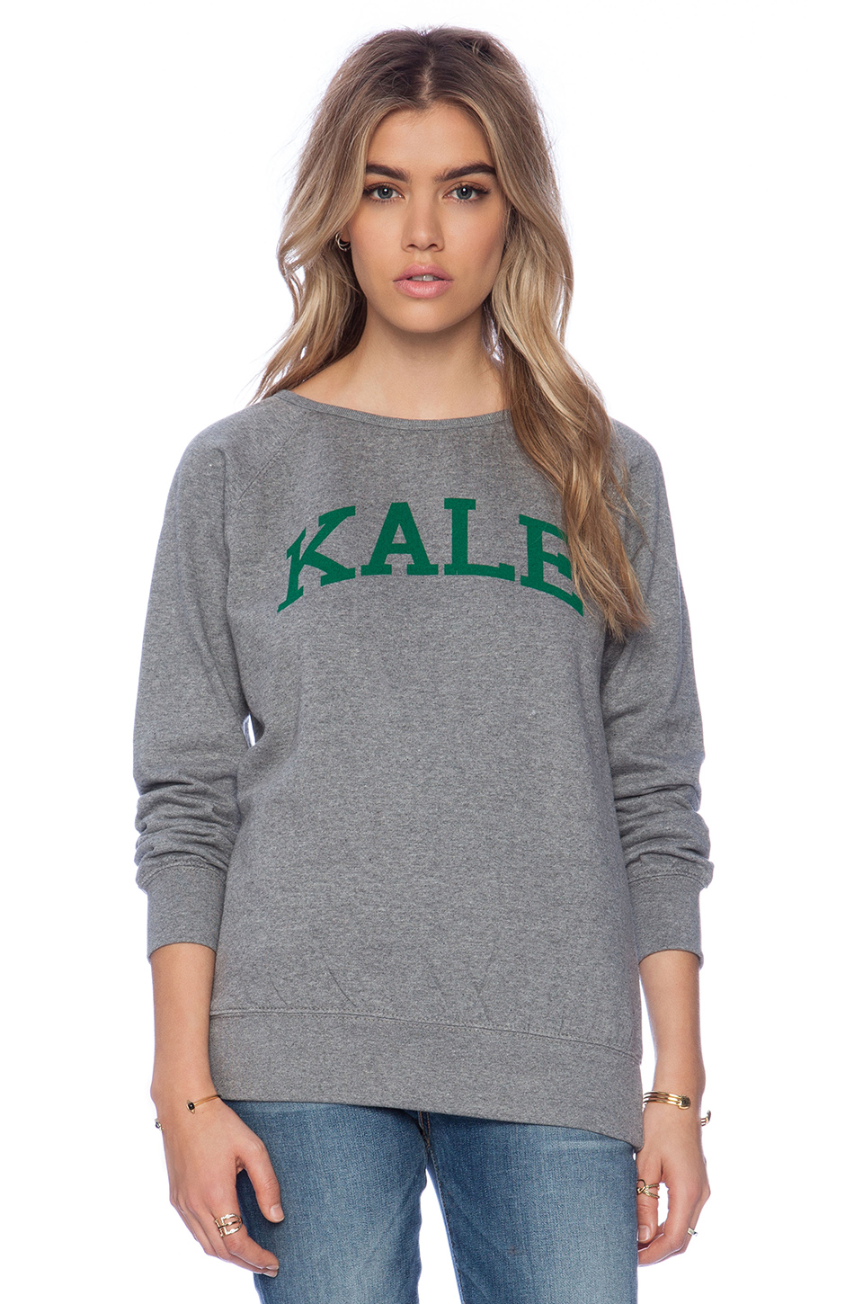 Sub_urban riot kale sweatshirt in heather grey from revolveclothing.com