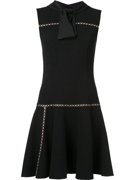 Carolina Herrera dress sleeveless dress sleeveless women black wool