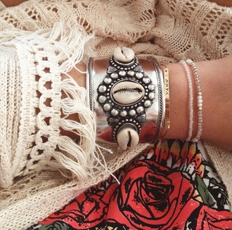 jewels bracelets boho jewelry boho chic hippie hippie jewelry coachella silver sterling silver jewelry silver jewelry shell