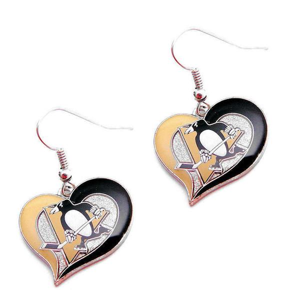 jewels earrings pittsburgh penguins