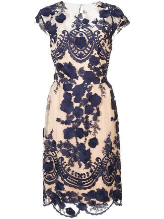 dress floral dress women floral blue
