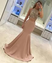 dress,pink homecoming dresses,beaded homecoming dresses,scoop homecoming dresses,sleeveless