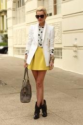yellow skirt,atlantic pacific,skirt