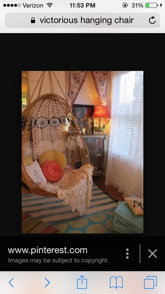 home accessory hanging chair tumblr home decor