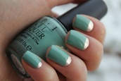 nail polish,vernis,color mode,mint nailpolish