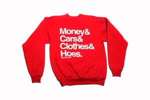 Thedopeboymagicshop — paid in full crewneck (red)