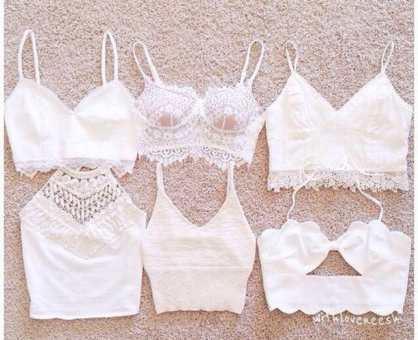 top white lace summer stylish style cute top crop tops all white everything coat shirt lae crochet crop top tank top crochet bustier crop top crop triangle top bralette white crop tops lace top white bralette white top white shirt white sweater lace bralette white lace croptop white lace top clothes lace top coachella style blouse blanc crop tops pizzo cute top halter top white halter lace halter strappy strappy bralette top