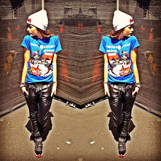shirt zendaya t-shirt hat pants