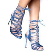 shoes,heels,lace up,lace-up shoes,lace up heels,denim,denim shoes,denim heels,sandals,lace up sandals,acid wash