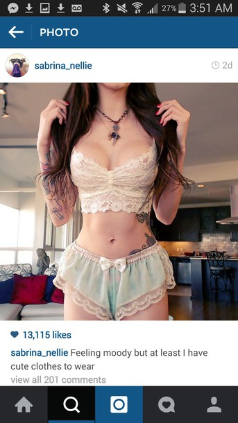 shorts pj shorts pjamas pjama shorts silk shorts lingerie sabrina nellie
