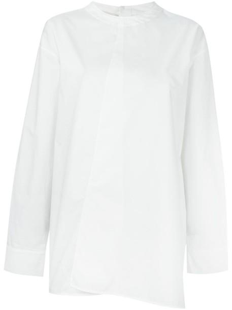 MARNI blouse style women white cotton top
