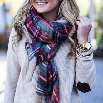 scarf top jewels