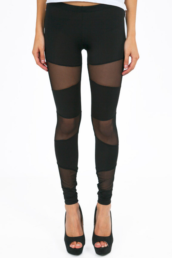 Meshing Around Leggings - Tobi