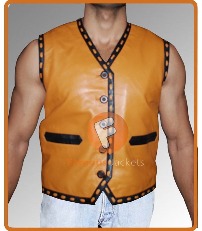 Ajax The Warriors Replica Leather Vest Costume