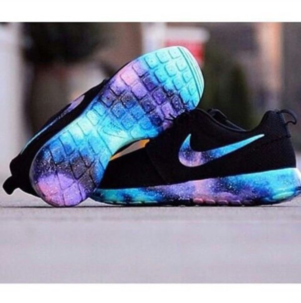 Nike Black And Purple Girl Shoes  d24f250ae77a