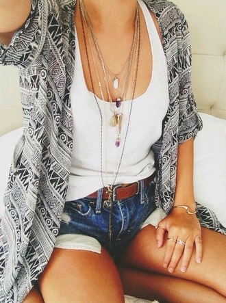 cardigan aztec indie hipster cute pretty summer