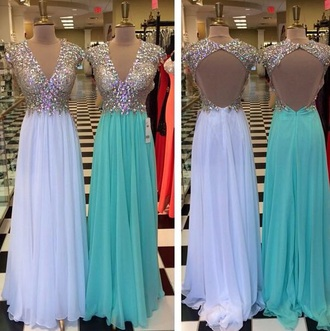 dress prom dress sparkle