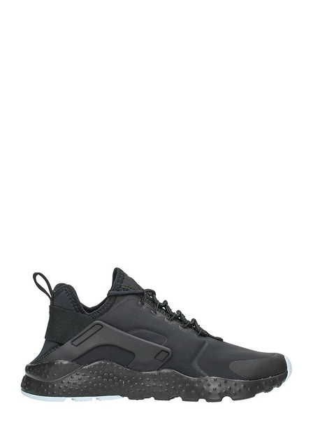 Nike run sneakers black neoprene shoes