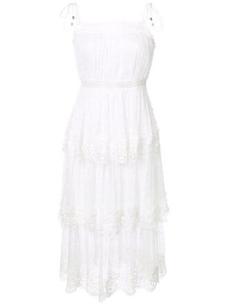 dress lace dress women lace white cotton silk