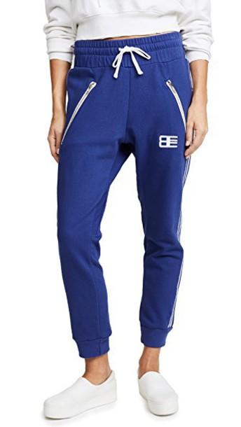 Baja East sweatpants embroidered pants