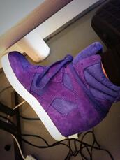 shoes,purple,wedges,high top sneakers,sneakers