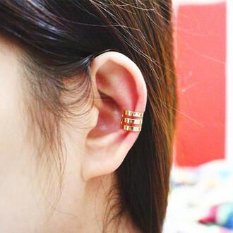 jewels ear cuff jewelry boho boho jewelry cool