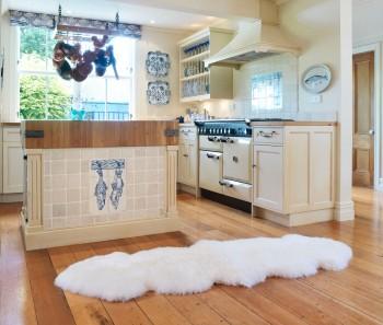 Sheepskin Rugs 2 Pelt Premium Auskin Ivory | Ultimate Sheepskin