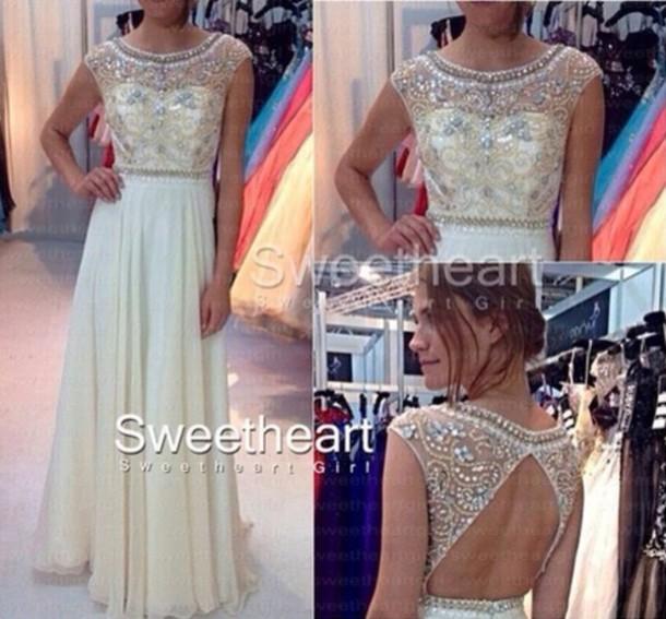 dress white dress prom dress