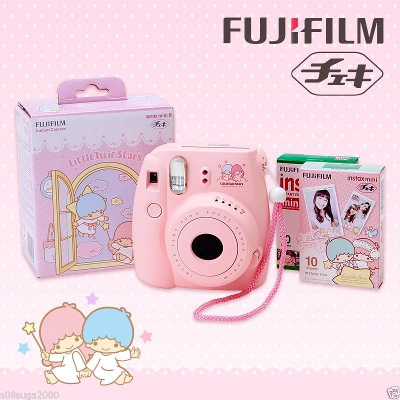 Little Twin Stars x Cheki & Film Fujifilm Instant Camera MADE IN JAPAN SANRIO | eBay