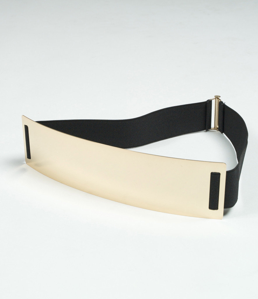 Gold Plate Belt on Wanelo