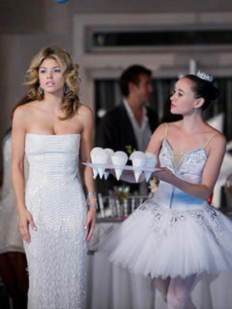 dress white dress naomi clark 90210