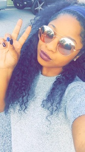 sunglasses,reginae carter,instagram
