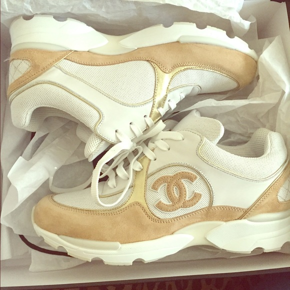 AUTHENTIC CHANEL TRAINING SNEAKERS SZ