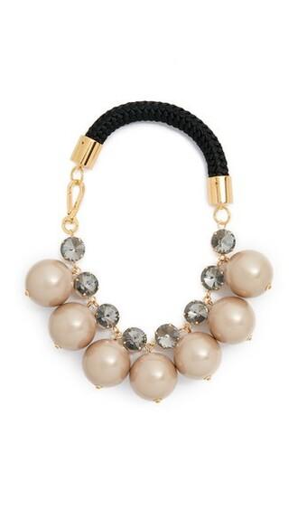 metal necklace jewels