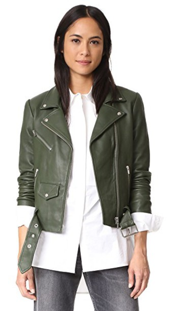 Veda jacket money green