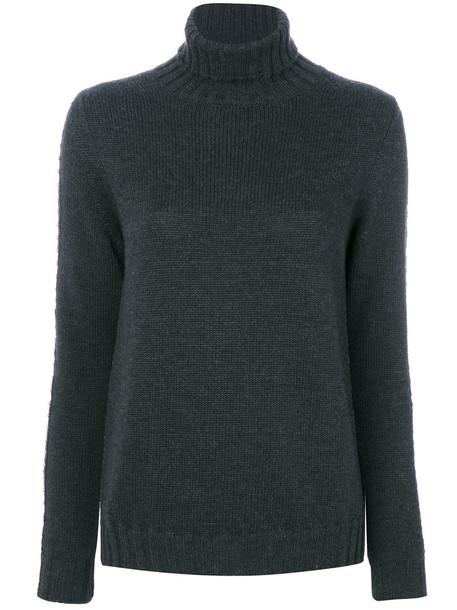P.A.R.O.S.H. P.A.R.O.S.H. - roll neck jumper - women - Wool - L, Grey, Wool