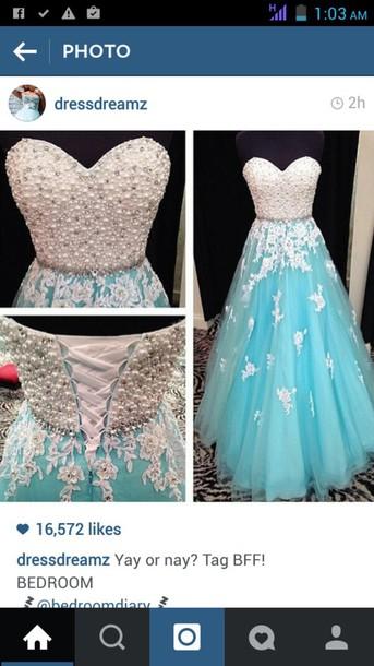 dress blue dress lace dress aqua dress