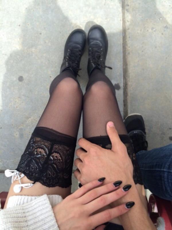 Lingerie stockings tumblr