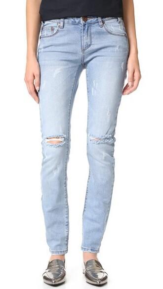 jeans fox blue