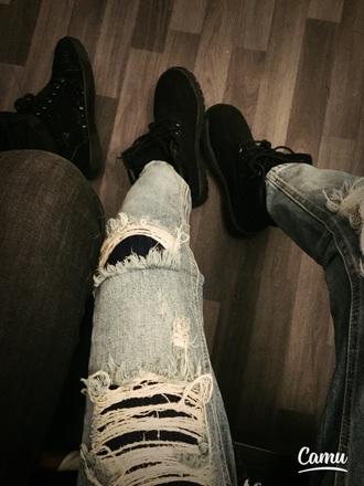 shoes black timberlands louboutin