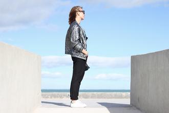 jane's sneak peak blogger jacket top bag shoes sunglasses