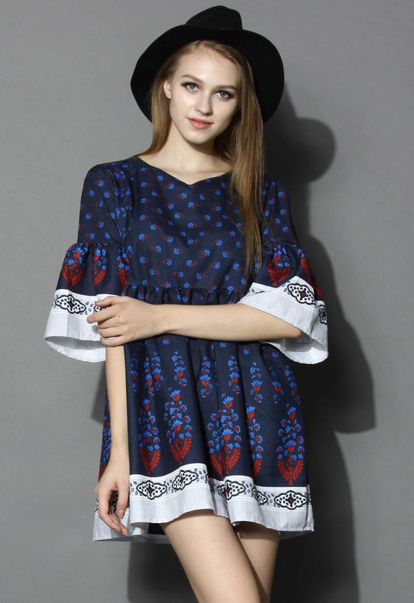 chicwish boho dolly dress