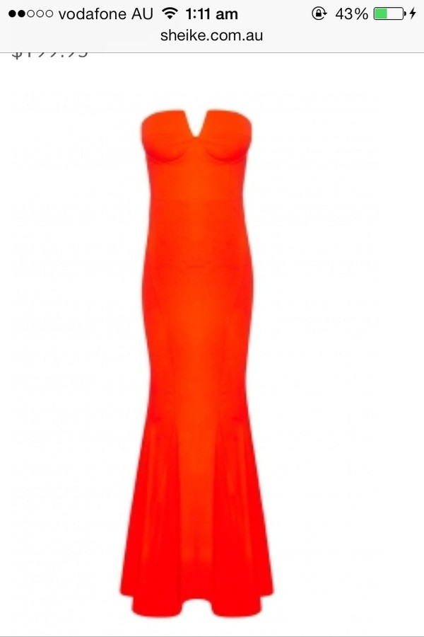 dress prom dress orange dress long prom dress red dress strapless dress
