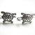 Silver Turtle Stud Earrings, Sea Turtle Jewelry