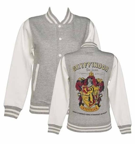jacket gryffindor jacket girl harry potter sweatshirt sweater hogwarts hogwarts sweatshirt hogwarts hoodie gryffindor blouse