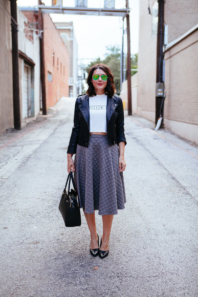blogger t-shirt bag jacket kendi everyday sunglasses