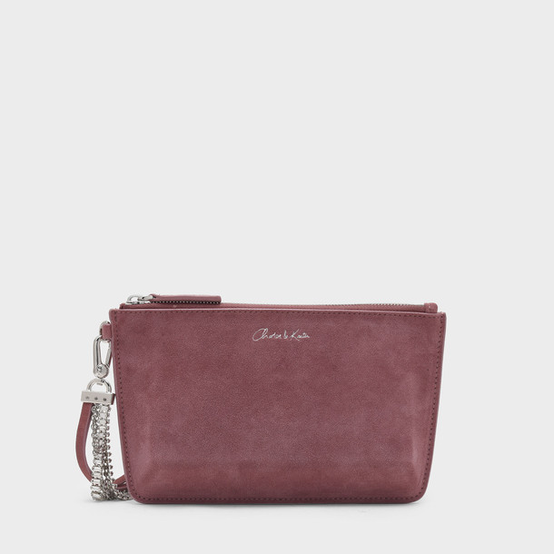 leather clutch zip clutch leather bag