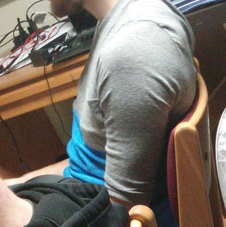 t-shirt pocket mens t-shirt menswear 3/4 sleeves