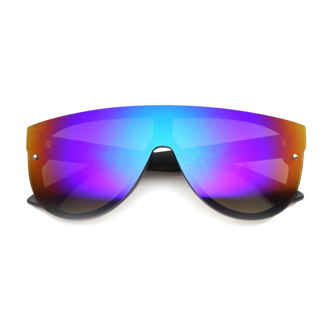 MODERN VICE Iridescent Sunglasses at FLYJANE