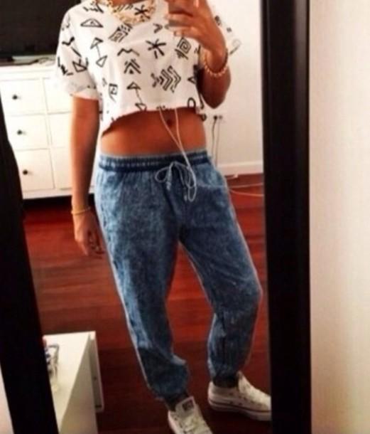 pants shirt jeans